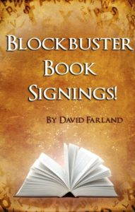 blockbuster book signings by david farland